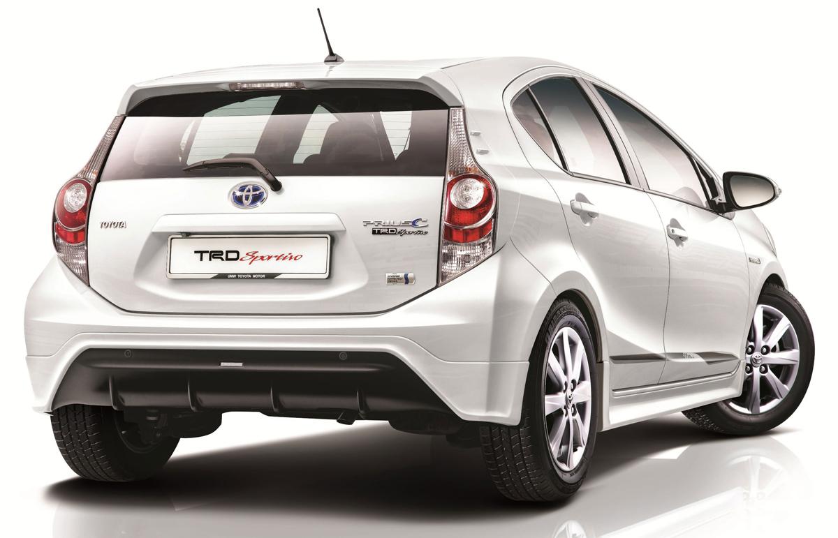 Toyota Prius C Trd Sportivo Introduced In Malaysia