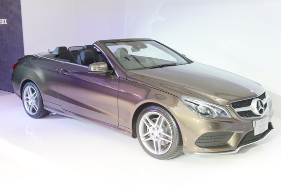 Mercedes benz thailand launches the new e class coupe and for Mercedes benz thailand