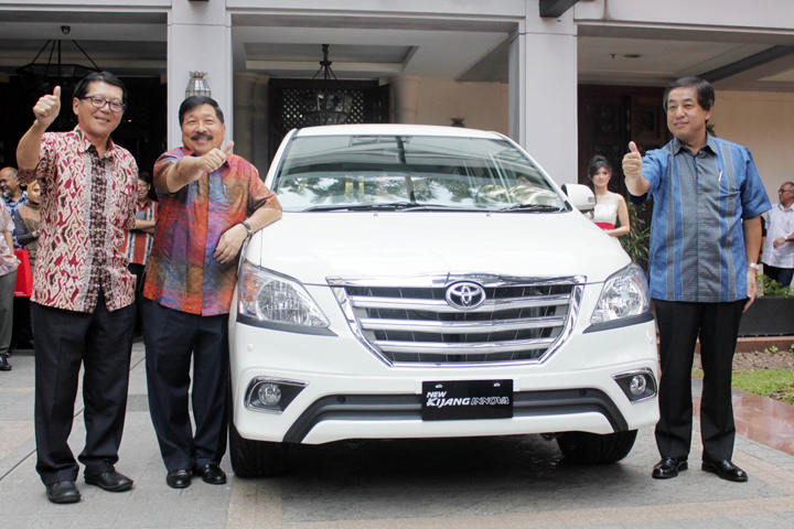 kijang innova as an appreciation for toyota kijang s legendary