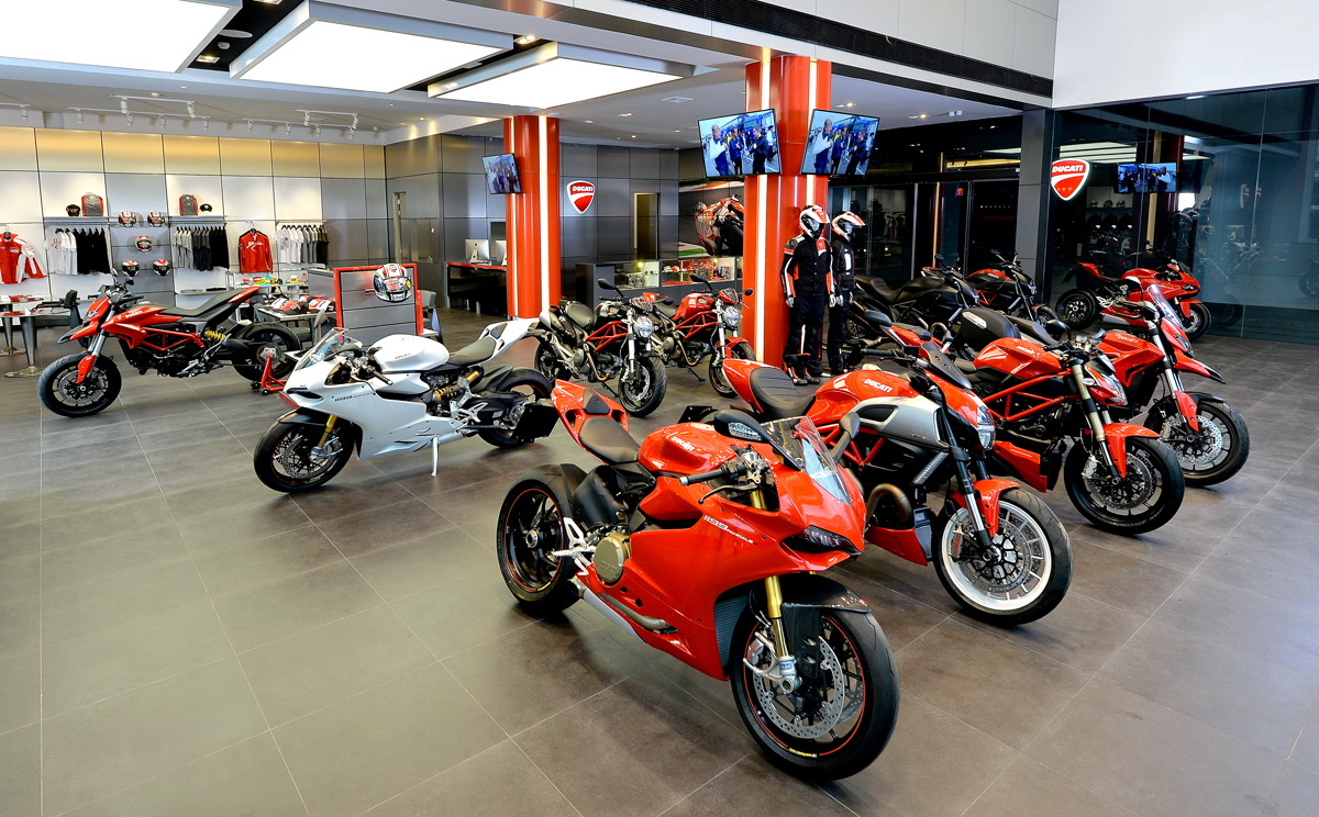 ducati vibhavadi unveiled, the new most modern and biggest ducati