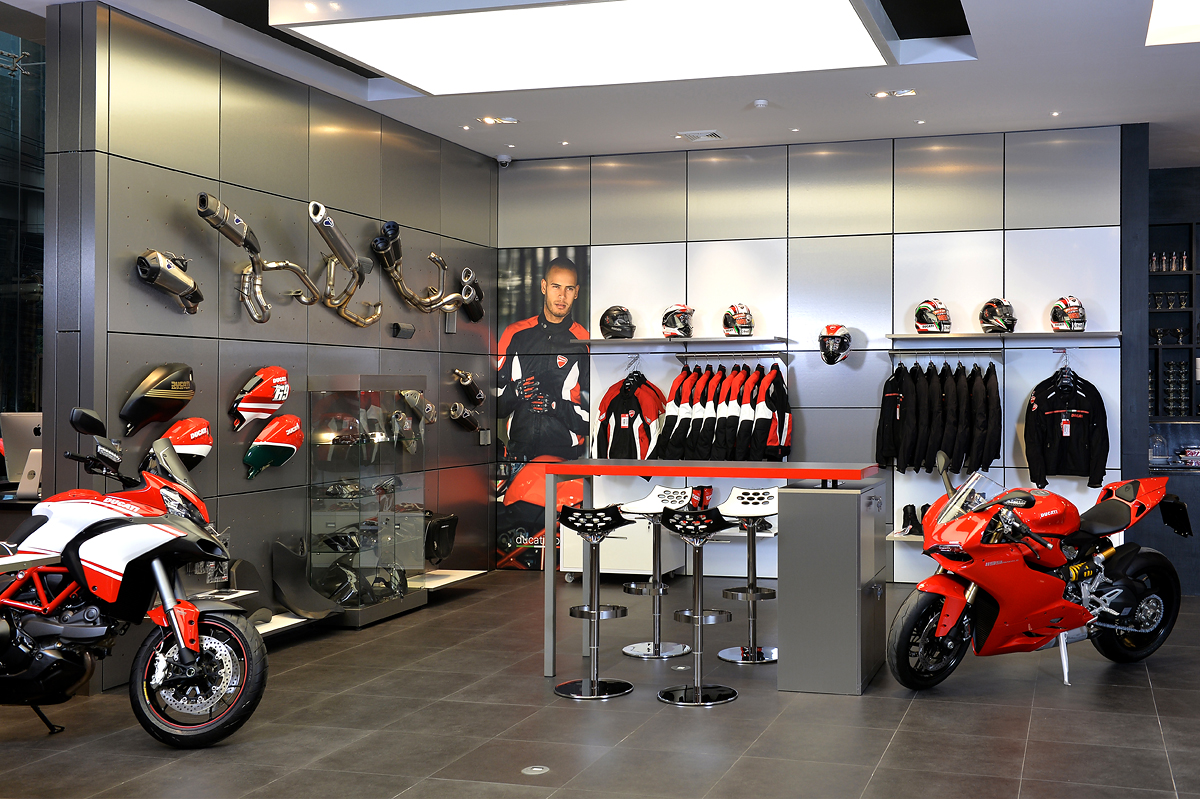 ideas for a garage workshop - Ducati Vibhavadi unveiled the new most modern and biggest