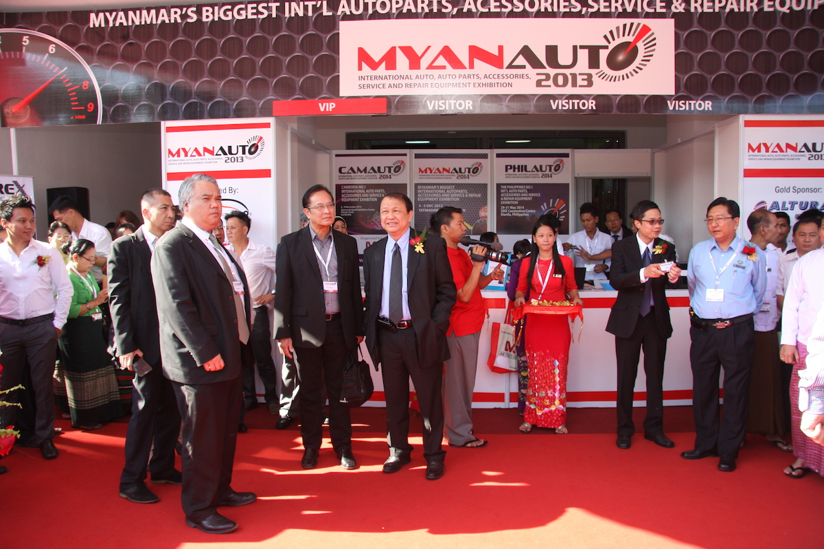 International Auto Parts and Accessories Show opens in Myanmar