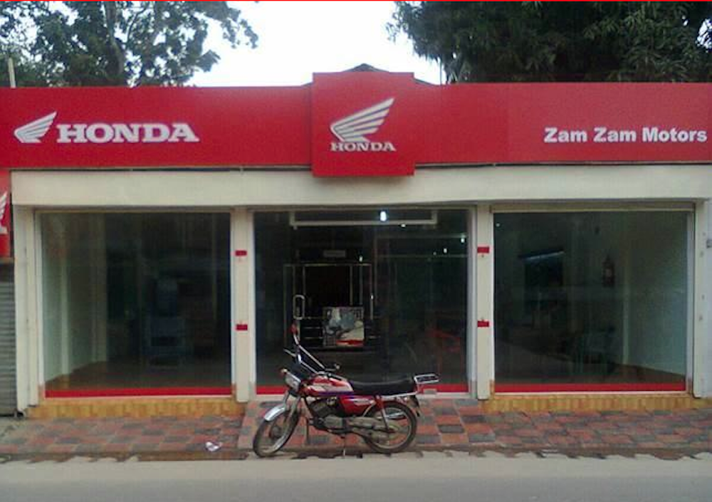 honda begins motorcycle sales in bangladesh   komarjohari