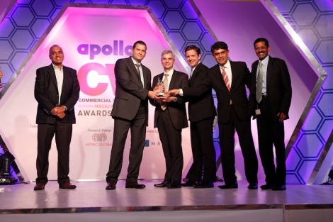 Daimler India Commercial Vehicles erhält CV Apollo Awards; Daimler India Commercial Vehicles receives CV Apollo Awards