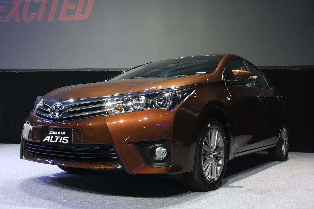 All New 11th Generation Toyota Corolla Altis Launched