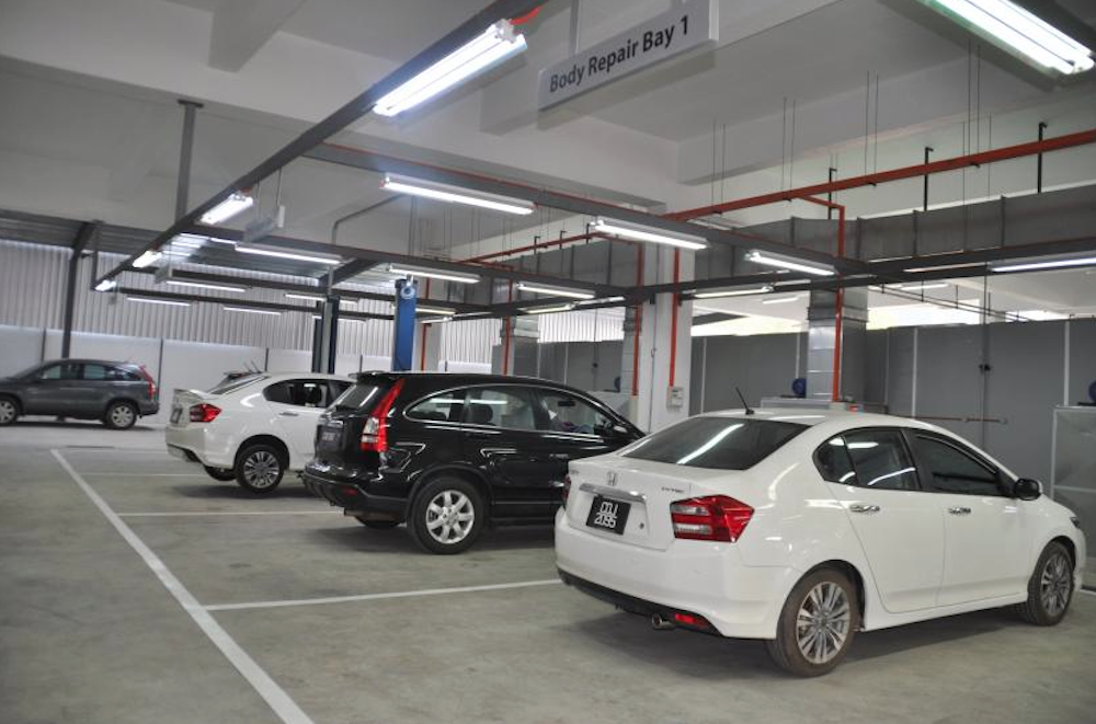 Honda Opens Its First Body And Paint Centre In The East
