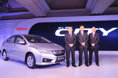 Honda launches the all-new 4th Generation Honda City in India
