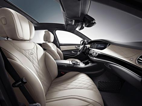 Mercedes-Benz S-Class, S 600, interior