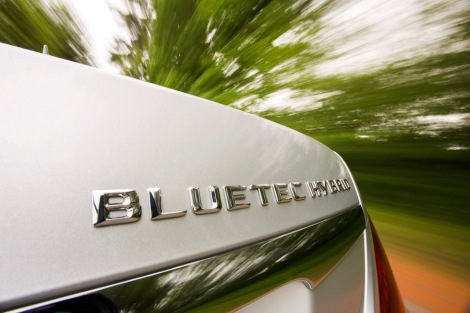 Mercedes-Benz S 300 BlueTEC HYBRID, Model designation on boot