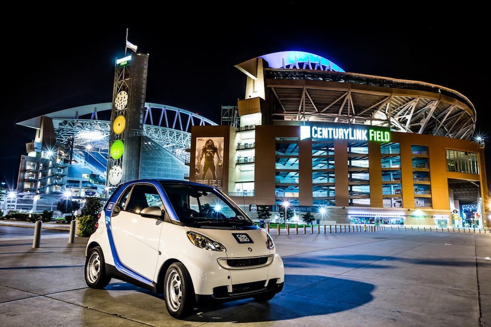 Car To Go Seattle >> Car2go Celebrates One Year Of Carsharing In Seattle With