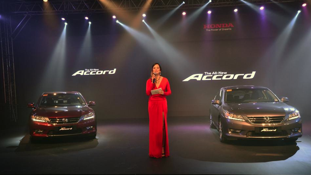 new car releases 2014 philippinesHonda Philippines kicks off 2014 with the All New Honda Accord