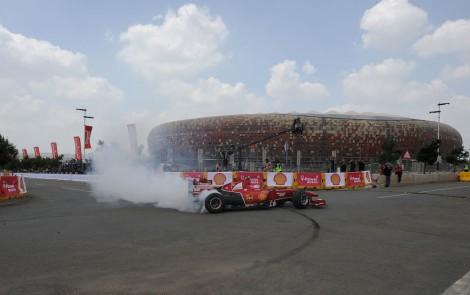 Shell Africa F1 Street Demo