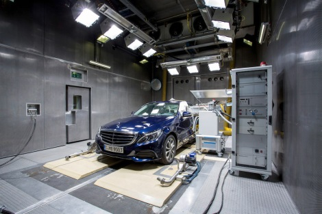 Mercedes-Benz C -Klasse, Allergie Test (W 205), 2014