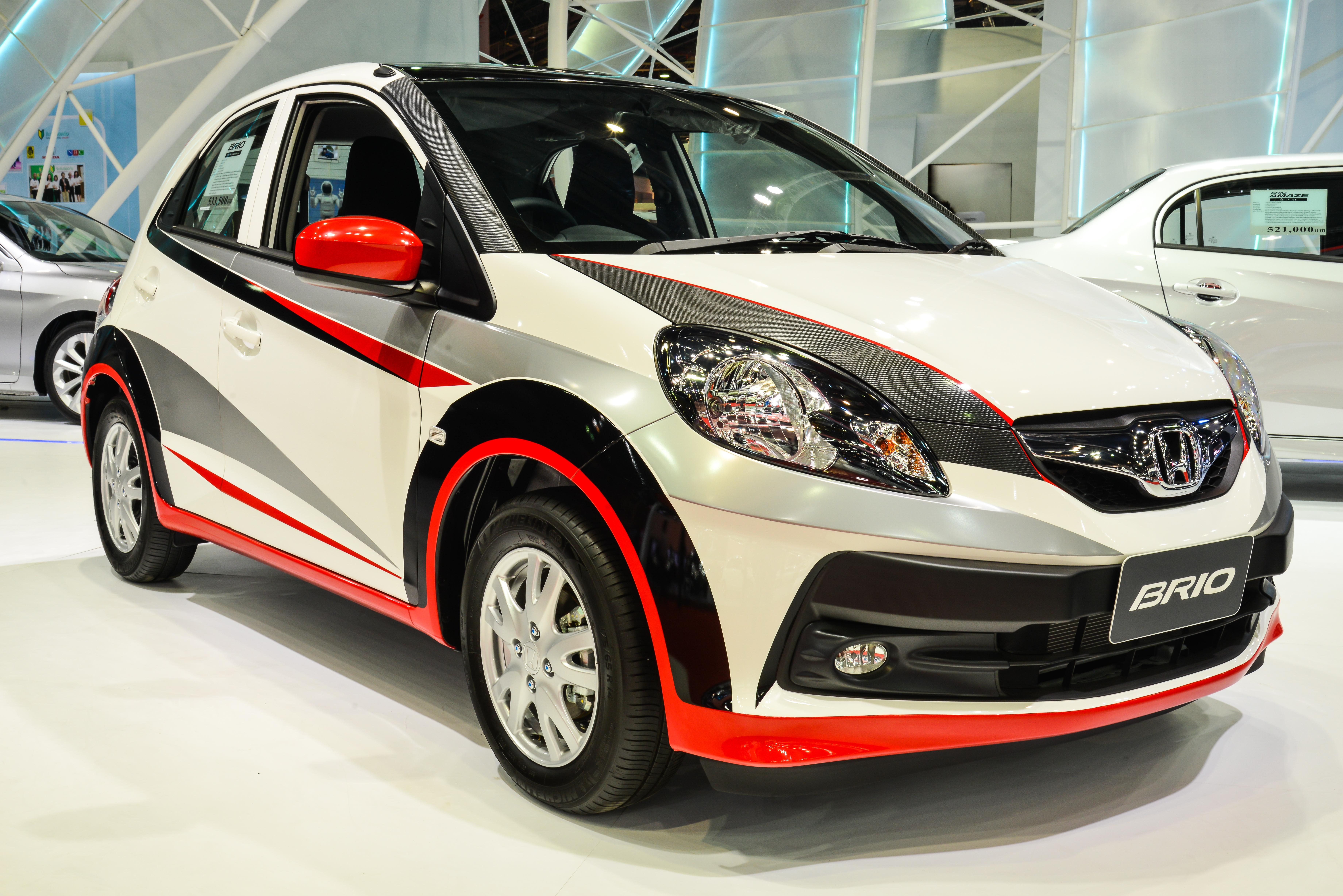 Car sticker design philippines - Honda Brio