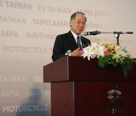 Juang Jan-pei, chairman of the Auto/Motorcycles Component Manufacturing Committee, Taiwan Transportation Vehicle Manufacturers Association