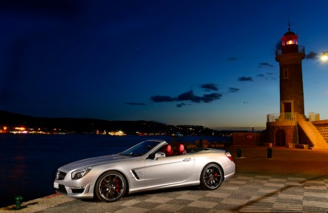 The Mercedes-Benz SL 63 AMG: As the summer approaches, the Mercedes-Benz cabrios are in special demand.