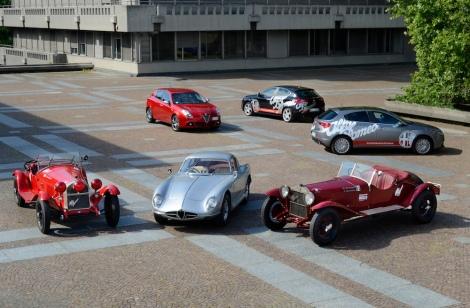 Alfa Romeo at the Mille Miglia 2014