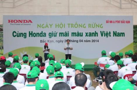 Honda Vietnam  Tree Planting Day_01