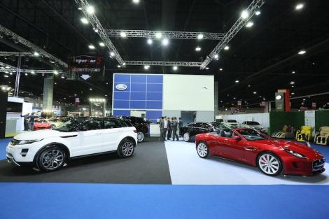 Jaguar Land Rover booth 01