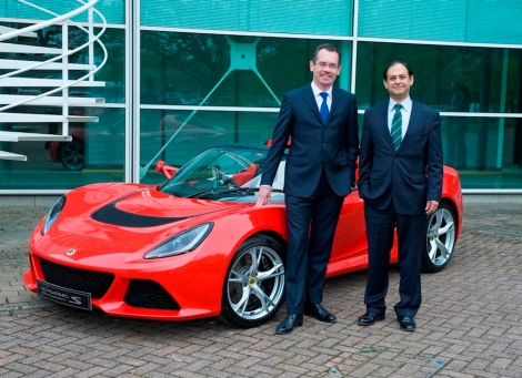 Jean-Marc Gales_CEO of Group Lotus plc and Aslam Farikullah