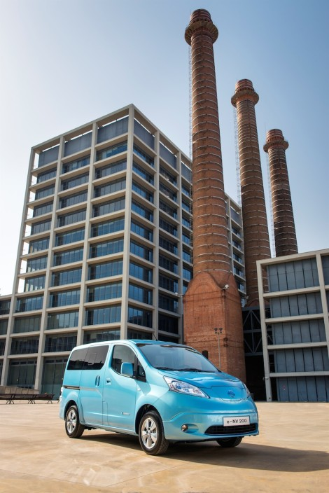 Nissan's second 100% electric vehicle starts global production i