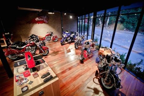 Showroom INDIAN MoTORCYCLE_2