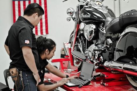 Showroom INDIAN MoTORCYCLE_7