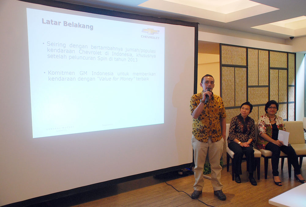 Chevrolet Indonesia Offers More Economical Cost Of Ownership Komarjohari