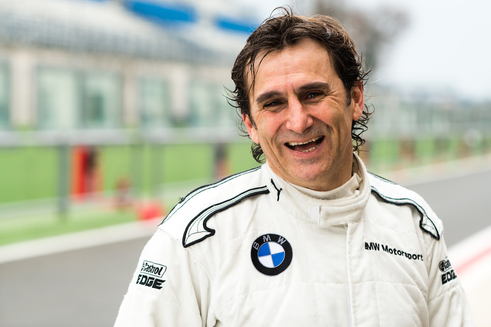 Alessandro Zanardi Shines In His Return To Brands Hatch