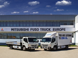 Lisbon, Portugal: eight new Fuso Canter E-Cell in customer trials July 2014