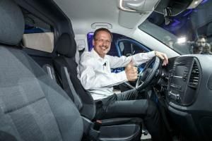 World premiere of the new Mercedes-Benz Vito in Berlin: Volker Mornhinweg, Head of Mercedes-Benz Vans.