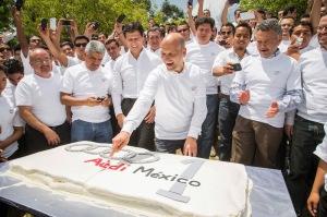 Ein Jahr Audi M xico: Glaenzende Bilanz