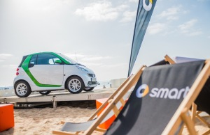smart times 2014 in Cascais - beach area