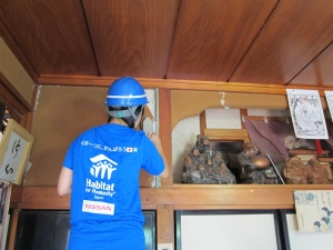 Nissan and Habitat for Humanity filling in the cracks after the