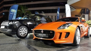 Range Rover and Jaguar F-TYPE