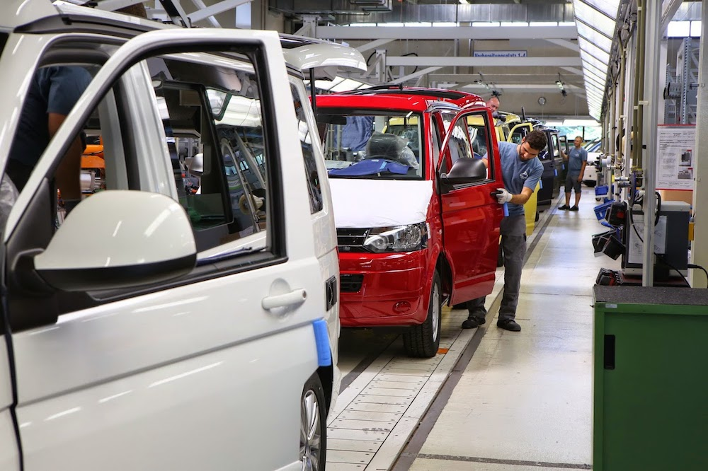 Volkswagen T5 California Celebrating 50 000th Production