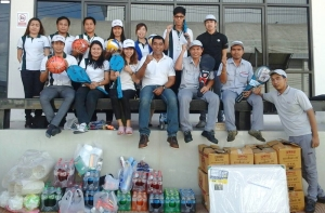 Staff and management at Titan-VNS Auto Logistics Co. Ltd. have been pleased to support an exciting initiative that has been promoted by staff at Nissan Motor Thailand Logistics to assist an educational school in Phichit Province with new supplies, equipment and donations.