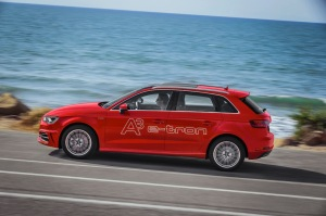 The Audi A3 Sportback e-tron is the first plug-in hybrid from Audi.
