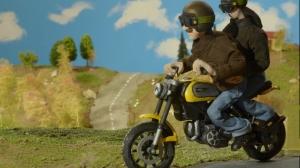 Scrambler Ducati Web series ''Franco & Elvira Story''