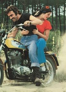Scrambler Ducati 60's-70's advertising
