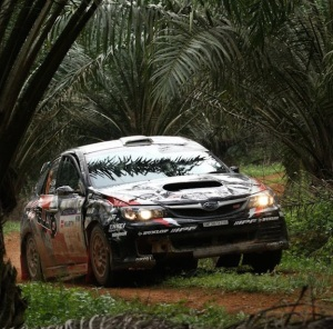 Sanjay Takale after his roll over.  Photo: APSM.