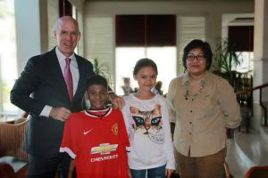 Chevrolet to Host Two Children from Indonesia, Nine Others, at Old Trafford for Special Experience with Manchester United