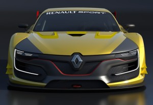 An emblematic front end, reflecting Renault's sporting genes