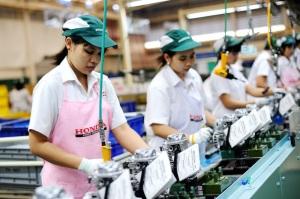 Thai Honda Power Product manufacturing line