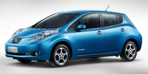 Dongfeng Nissan launches its first all-electric vehicle