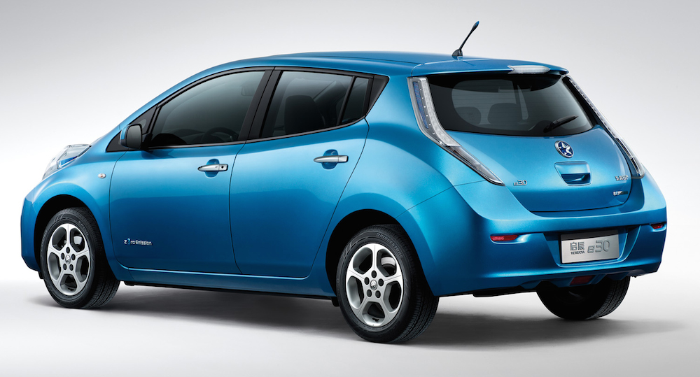 Dongfeng Nissan Launches Its First All Electric Vehicle