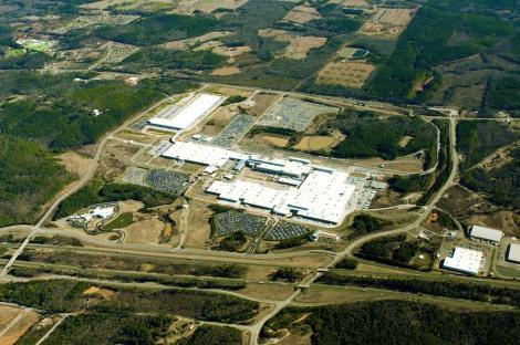 Mercedes-Benz U.S. plant Tuscaloosa/Alabama