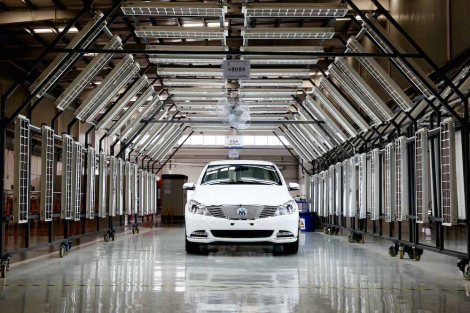 DENZA is manufactured by a Sino-German joint venture of Daimler and BYD in Shenzhen.