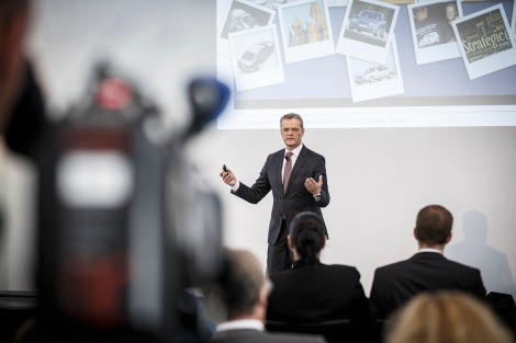 Media Roundtable on 10 Sept. 2014: Markus Schäfer, Member of the Divisional Board of Mercedes-Benz Cars, Production and Supply Chain Management.