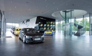 Audi eroeffnet Hightech-Areal  in Neuburg an der Donau